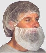 Polypropylene Beard Covers 21 Inch Beard Covers   pic 1