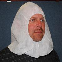 Polypropylene Hoods Elastic Face (100 per case)  pic 1