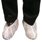 Polypropylene Heavy Duty Jumbo White Shoe Covers  pic 2