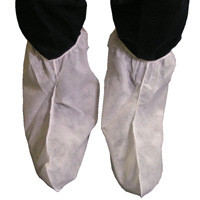 Polypropylene White Regular Boot Covers    pic 1