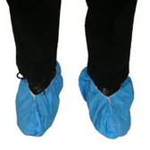 Sunsoft Heavy Duty PE Coated Blue Shoe Covers   pic 2