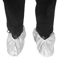 Sunsoft Heavy Duty PE Coated White Shoe Covers   pic 2