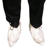 Tyvek White Disposable Shoe Covers (100 pair)  pic 3