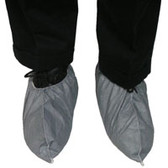 Tyvek Skid Resistant FC Gray Shoe Covers (100 pair)  pic 2