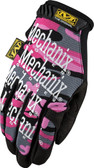 Mechanix Original WOMENS Pink Camo Gloves, Part # MG-72-520 pic 2