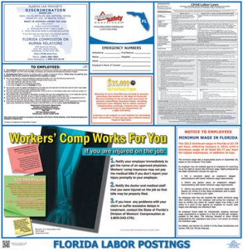 Florida State Labor Law Posters