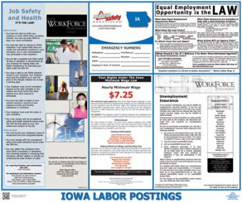 Iowa State Labor Law Posters