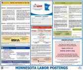 Minnesota State Labor Law Posters