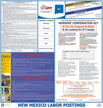 New Mexico State Labor Law Poster