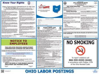 Ohio State Labor Law Poster
