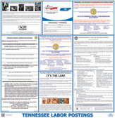 Texas Labor Law Posters (Without Workers Compensation)
