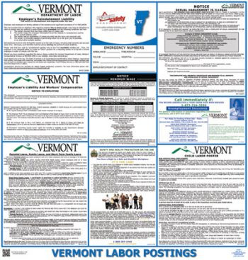 Vermont State Labor Law Posters