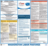 Washington Government-Issued Insurance State Labor Law Poster