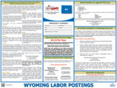 Wyoming State Labor Law Posters