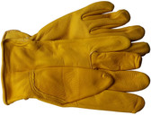 Deerskin Full Leather Glove with Keystone Thumb Pic 1