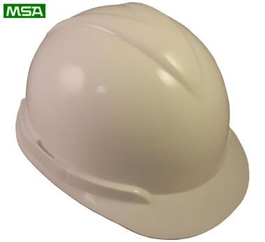 MSA Vangard II Helmet ~ White ~ View 01