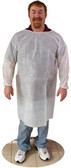 Sunsoft WHITE Isolation Gown w/ Elastic Wrists, Ties   pic 1