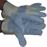 Heavy Duty Leather Glove w/ Kevlar Stitching pic 2