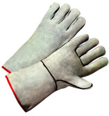 Welding Gloves w/ Gray Leather Pic 1