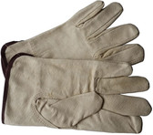 Unlined Pigskin Driver Work Gloves (PAIR) Pic 1
