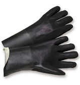 PVC Gloves 14 inch w/ Sandpaper Finish Pic 1