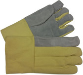 22 Oz High Temp glove with Leather Palm Pair Pic 1