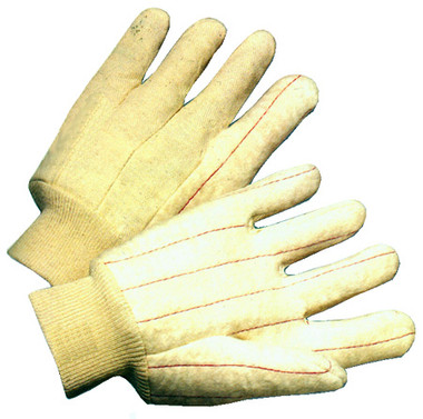 Hot Mill Medium Weight Double Palm Gloves Nap Out Pic 1