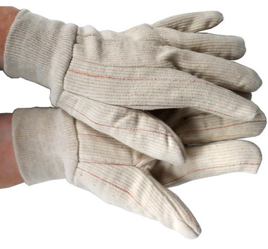 Double Palm Cotton/Polyester Polychord Gloves  Pic 1