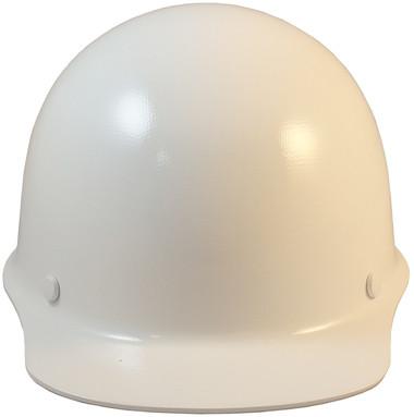 MSA Skullgard Cap Style White w/ STAZ ON Suspension Front