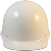 MSA Skullgard Cap Style White w/ STAZ ON Suspension Front