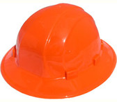 ERB Omega II Full Brim Hard Hats w/ Ratchet Orange pic 1
