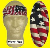 Miracool Wavy Flag Cooling Bandanas pic 1