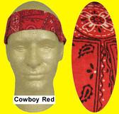 Miracool Cowboy Red Cooling Bandanas pic 1