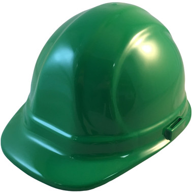 ERB Omega II Cap Style Hard Hats w/ Pin-Lock Green Color pic 1