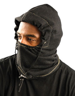 Occunomix 3 in 1 Fleece Balaclava Liner FR Charcoal Black pic 1