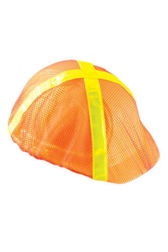 Orange Cap Hard Hat Mesh Hi Viz Covers pic 2