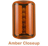 ERB Hard Hat Safety Lights ~ AMBER