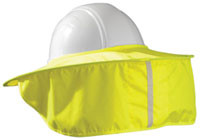 Occuomix STOW-AWAY Yellow Hard Hat Shade pic 1
