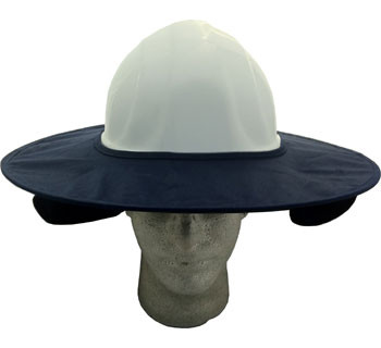 Occuomix STOW-AWAY Blue Hard Hat Shade pic 1