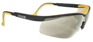 DeWALT High Performance ~ Dual Injected Rubber Glasses ~ Indoor Outdoor Lens
