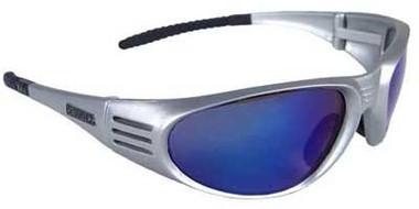 DeWALT Ventilator Safety Glasses ~ Blue Mirror Lens