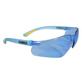 DeWALT Contractor Pro ~ Safety Glasses with Light Blue Lens