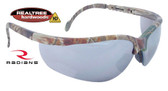 Radians Realtree HW Series Glasses with Silver Mirror Lens