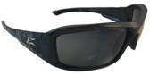 Edge Brazeau Safety Glasses Gargoyle Frame w/ Smoke Lens