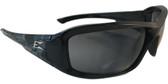 Edge Brazeau Safety Glasses ~ Skull Frame, Smoke Lens