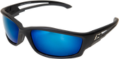 Kazbek Polarized Safety Glasses ~ With Blue Mirror Lens