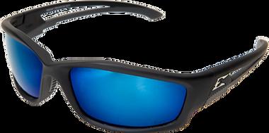 Kazbek Polarized Safety Glasses ~ With Blue Mirror Lens