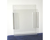 Plastic Clear Literature Holder  Pic 1