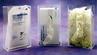 Glove Dispenser Clear One Size Fits All  Pic 1