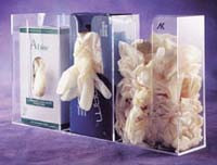 3 Compartment Glove Dispenser  Pic 1